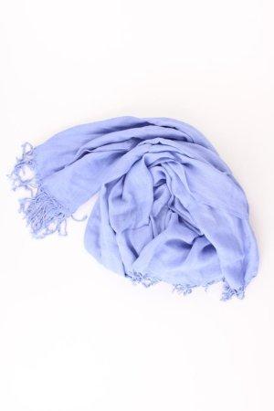 Zomersjaal blauw-neon blauw-donkerblauw-azuur