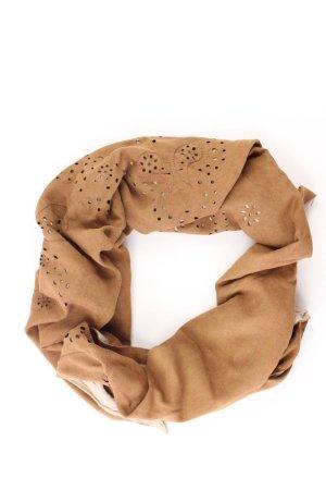 Tuch braun aus Baumwolle