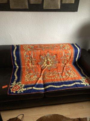 Hermès Pañuelo de seda multicolor Seda