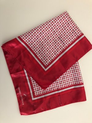 Daniel Hechter Neckerchief dark red-white