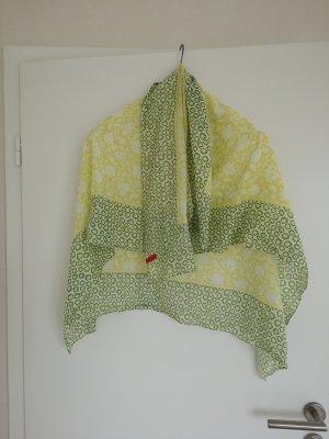 Tuch Esprit grün gelb