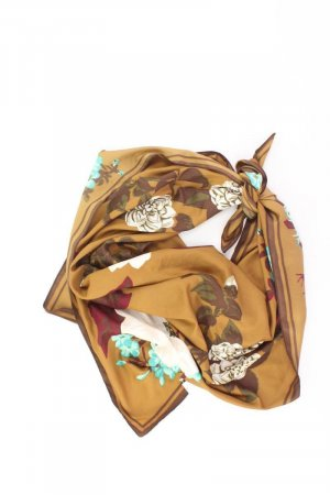 Summer Scarf gold-colored silk