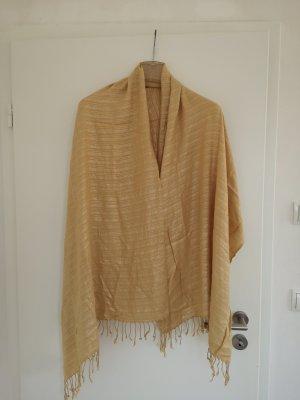 H&M Pañoleta color plata-color oro