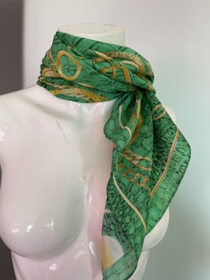 Guess Silk Cloth gold-colored-green