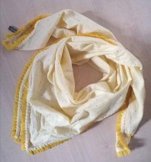 Tuch in gelb