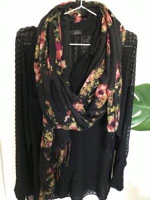 Tuch mit floralem Jacquard-Muster