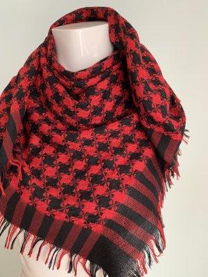 Neckerchief black-dark red