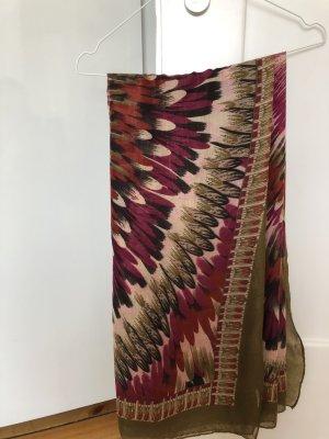 keine Écharpe d'été kaki-violet