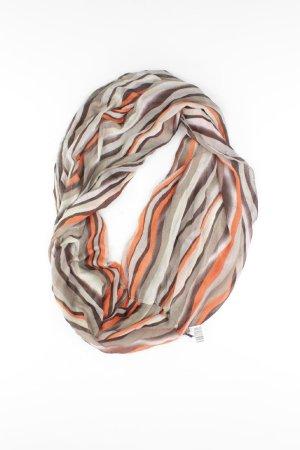 Écharpe d'été orange doré-orange clair-orange-orange fluo-orange foncé