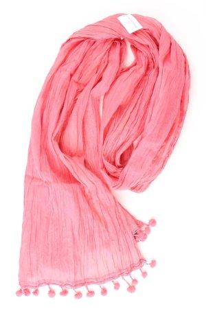 Szal letni jasny różowy-różowy-różowy-różowy neonowy