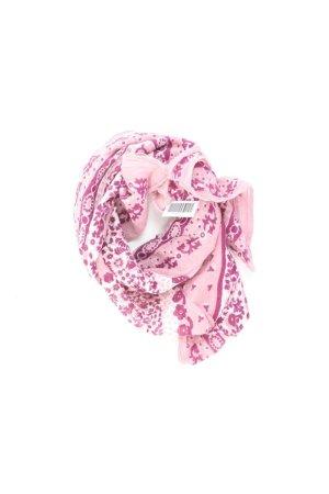 Sciarpa estiva rosa chiaro-rosa-rosa-fucsia neon