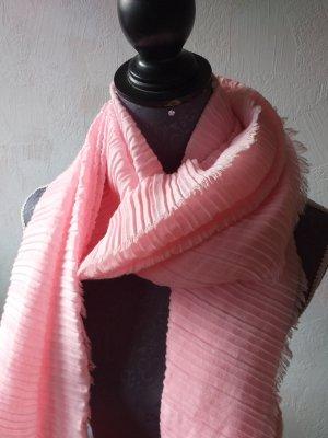 Benetton Sciarpa stropicciata rosa-rosa chiaro