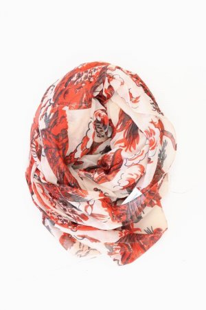 Summer Scarf bright red-red-neon red-dark red-brick red-carmine-bordeaux-russet