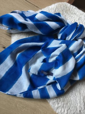 Esprit Bufanda blanco-azul