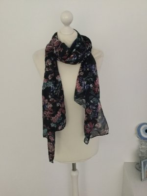 keine Summer Scarf black-grey