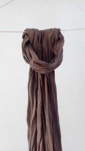 Vintage Chal veraniego marrón claro-beige