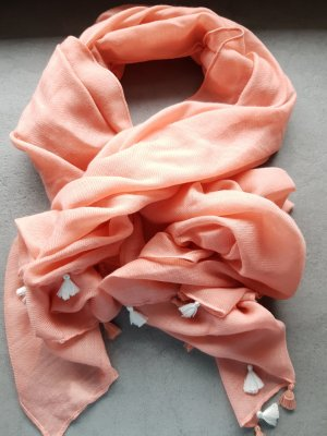 Taifun Woolen Scarf light orange