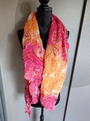 Halsdoek oranje-violet
