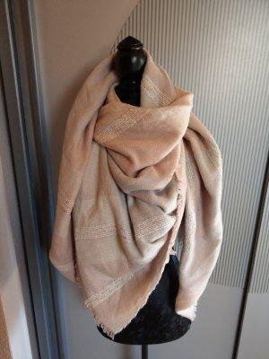 Tuch Schal rosa beige Orsay