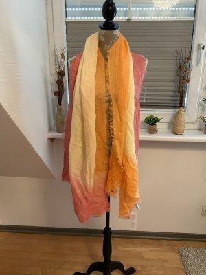 Esprit Châle au tricot multicolore lin