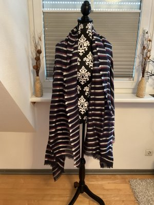 Esprit Châle au tricot multicolore coton