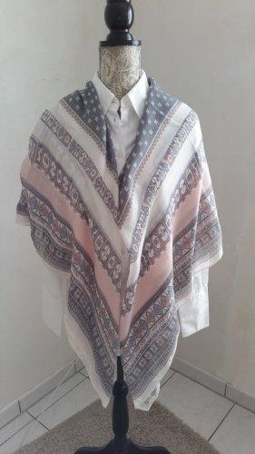 H&M Châle au tricot multicolore