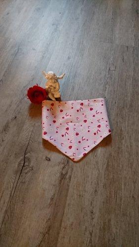 handmade Halsdoek framboosrood-roze