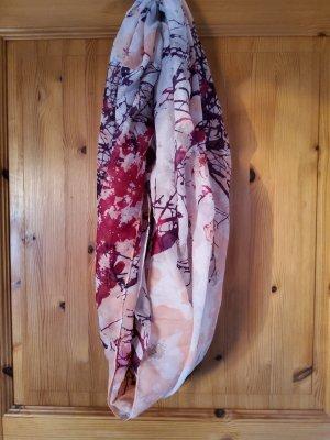 accessories Komin zawijany czerwona jeżyna-malina