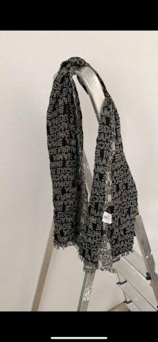 Armani Exchange Pañuelo de seda negro