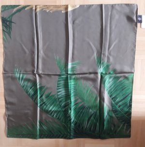 Bogner Silk Cloth olive green silk