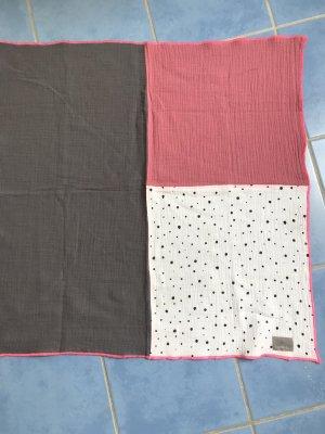 Pañoleta gris-rosa