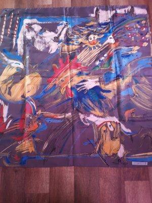 Etienne Aigner Sciarpa di seta multicolore