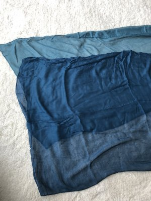 Zero Halsdoek korenblauw-blauw