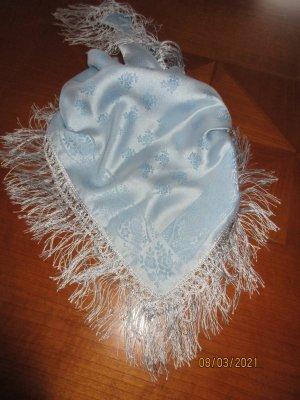 Écharpe bavaroise bleu azur
