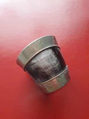 Cadena de plata negro-color plata