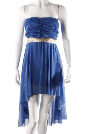 Tulle Empire Dress Blue