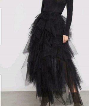 100% Fashion Maxi gonna nero