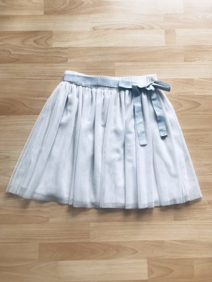 Souvenir Clubbing Tulle Skirt white-light grey