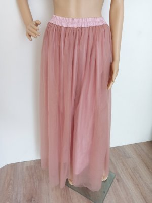 Tulle Skirt dusky pink-pink