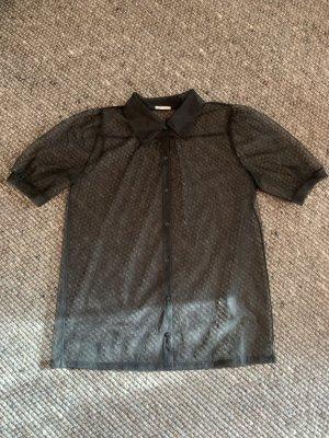 Intimissimi Blusa trasparente nero