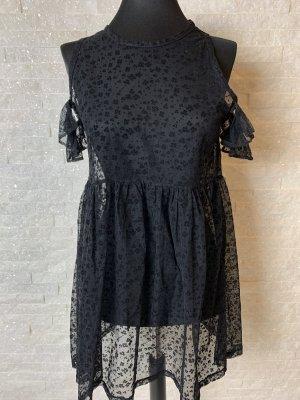 The Ragged Priest Mini Dress black