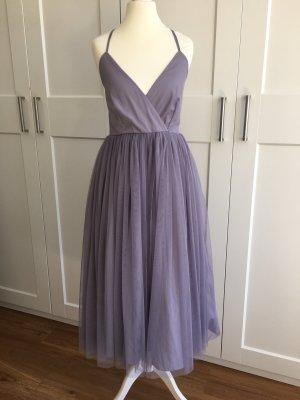 Asos Robe de soirée gris violet