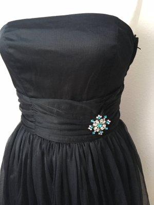 H&M Bandeau Dress black