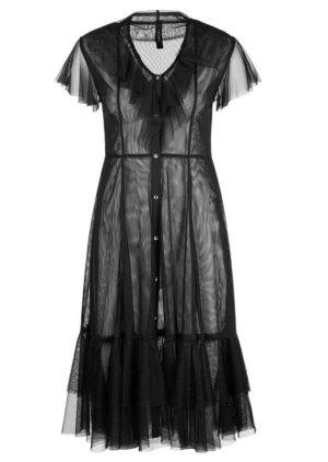 Marc Cain Flounce Dress black