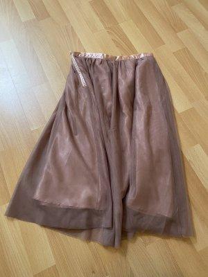 Amisu Tiulowa spódnica stary róż-różowy