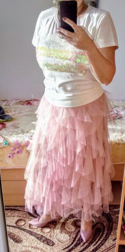 Kein Tulle Skirt pink