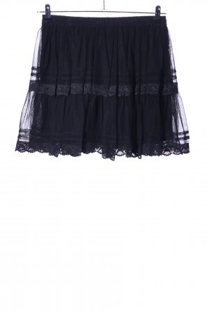 Tüllrock schwarz Elegant