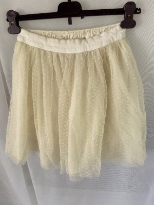 Abercrombie & Fitch Gonna di tulle bianco sporco-crema