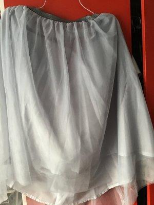 Ballonrok zilver Synthetische vezel