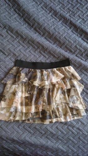 Esprit Urban Casual Tulle Skirt dark grey-grey brown
